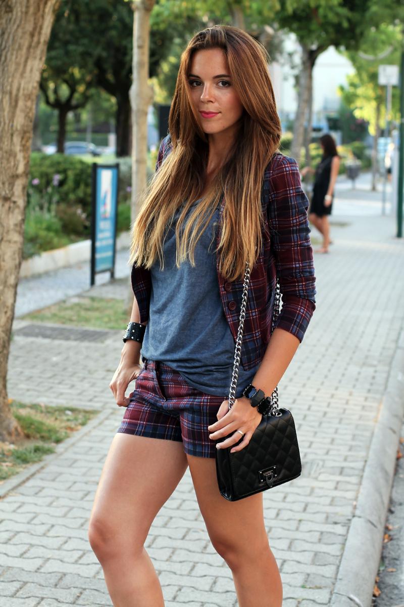 moda autunno inverno 2013 | giacca tartain | pantaloni tartain | giacca scozzese
