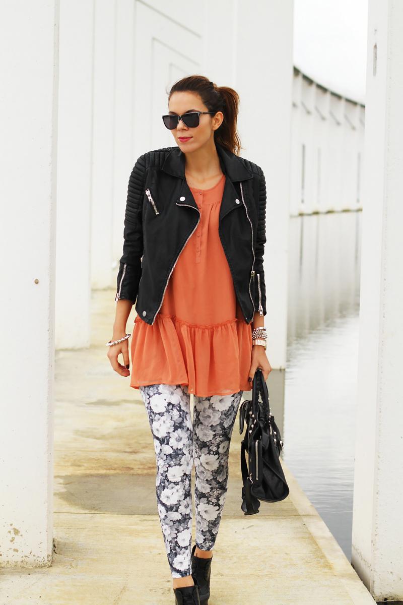 leggings colorati