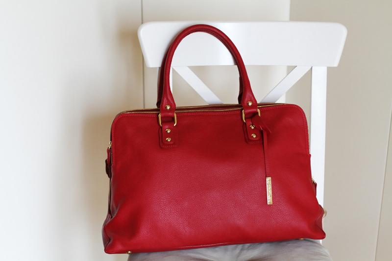 borsa rossa
