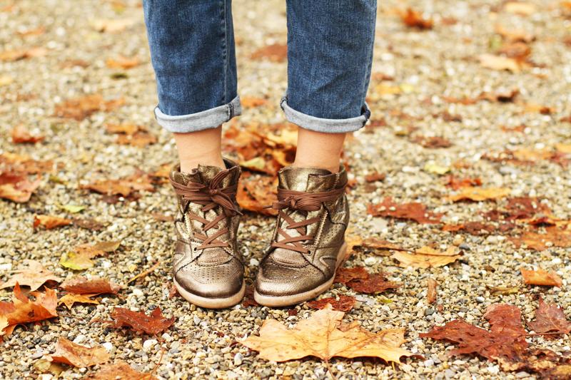sneakers con la zeppa