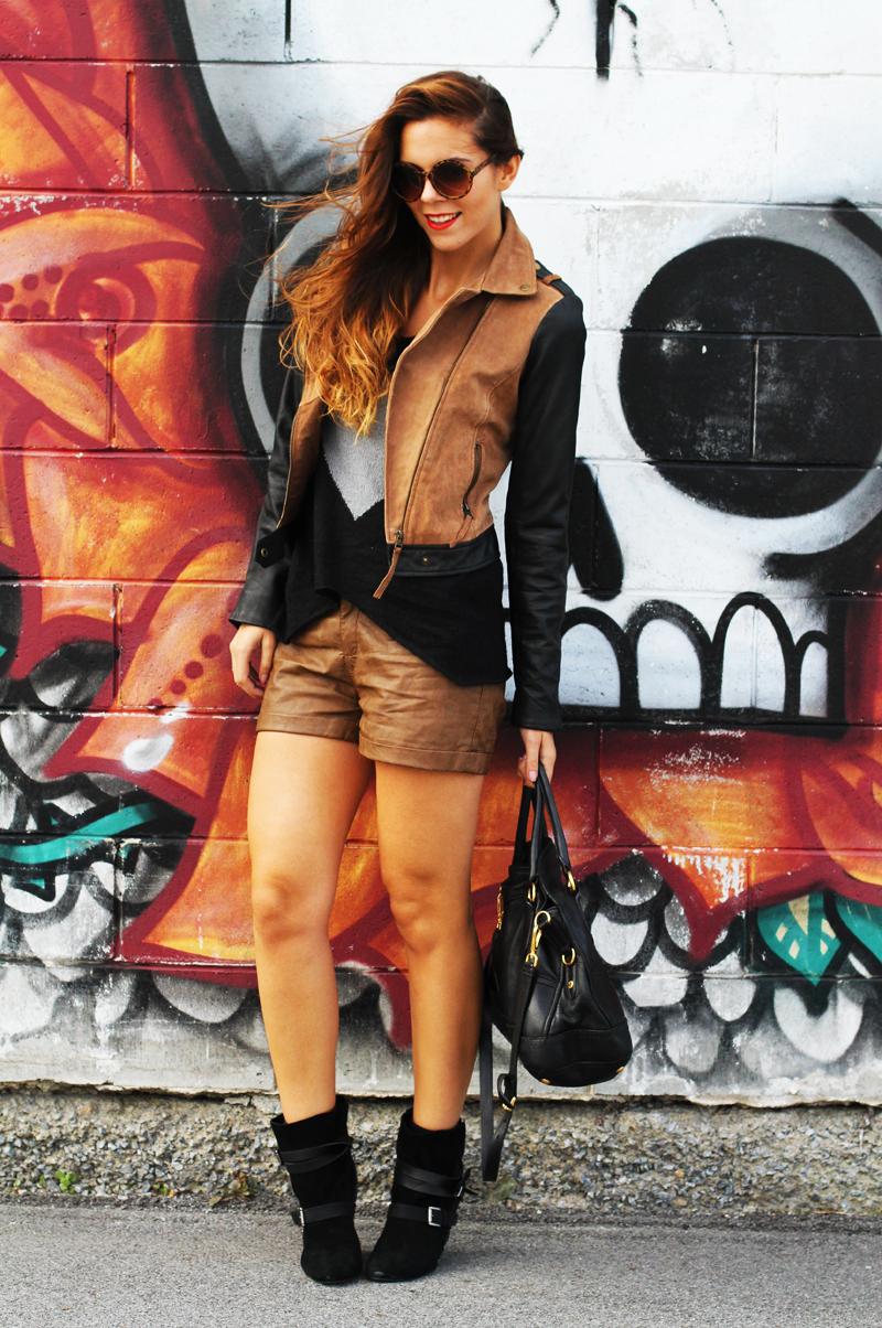 Nero E Marrone Io Dico Di S Per Il Mio Outfit Genovese Irenes Alseno Sandals Bram Orange 40 Closet Fashion Blogger Streetstyle Bloglovin