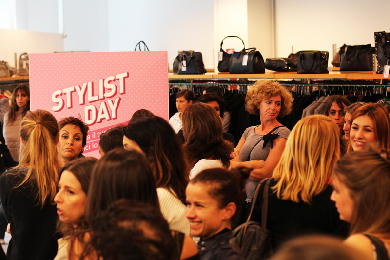Diffusione tessile stylist for a day