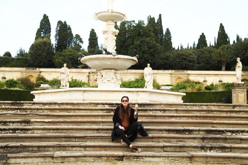 fontana villa medicea