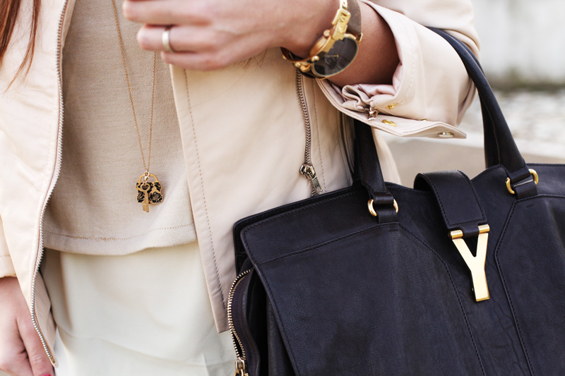 dettagli moda borsa yves saint laurent