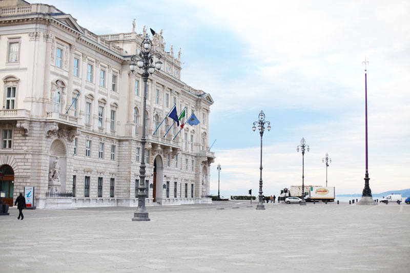 Piazza Unita' d' Italia Trieste