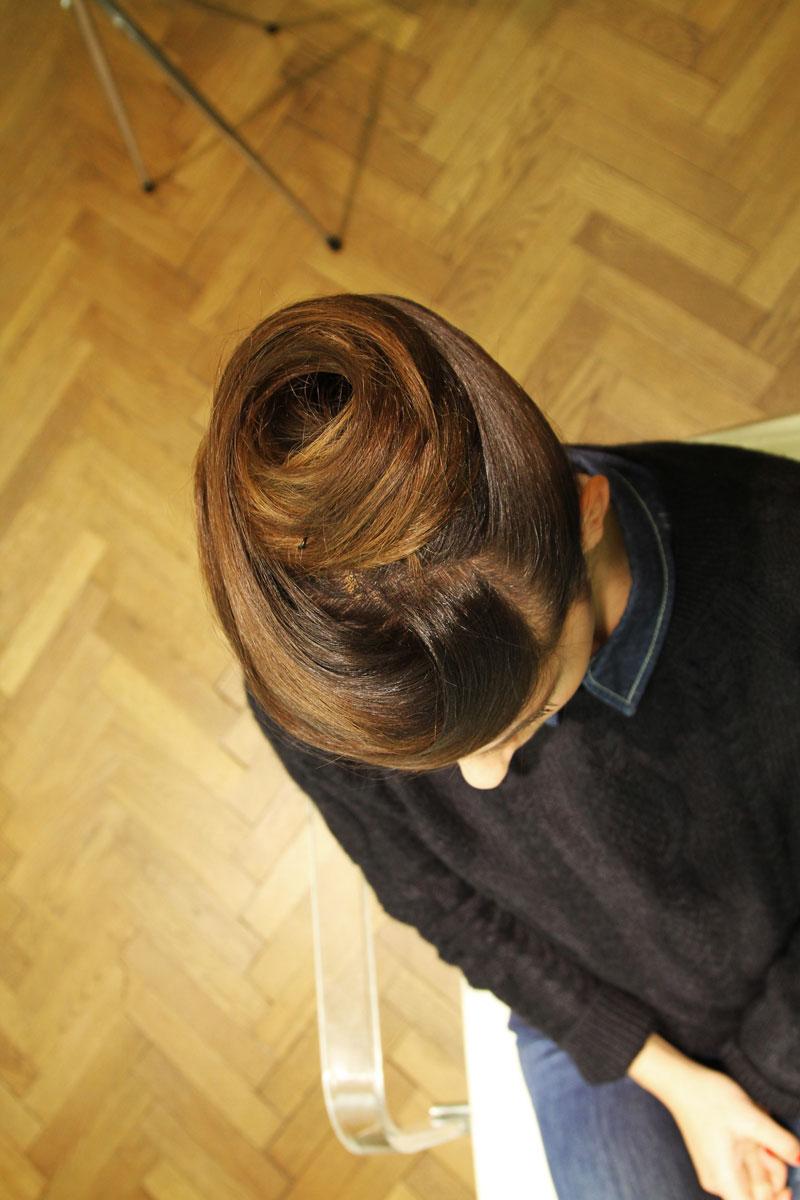Acconciature capelli raccolti