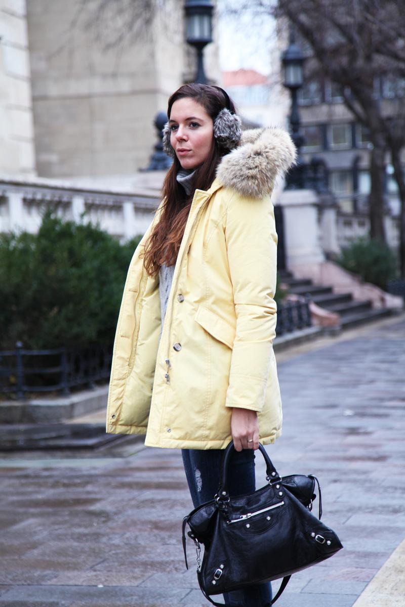 woolrich giallo