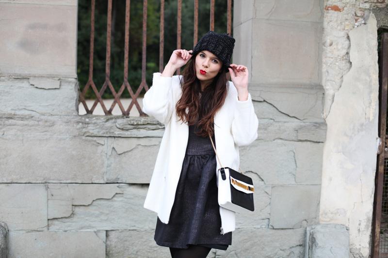 cappotto bianco pimkie