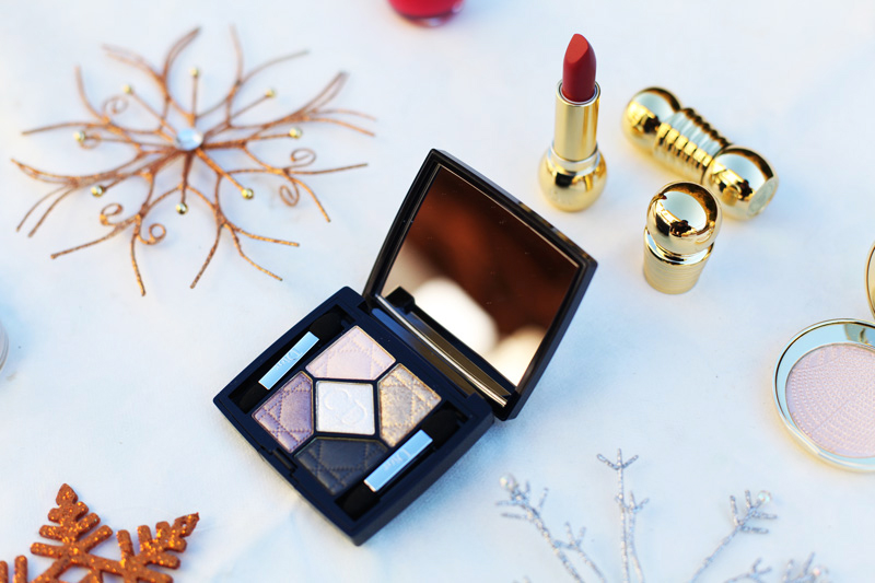 Golden Winter Dior Make up