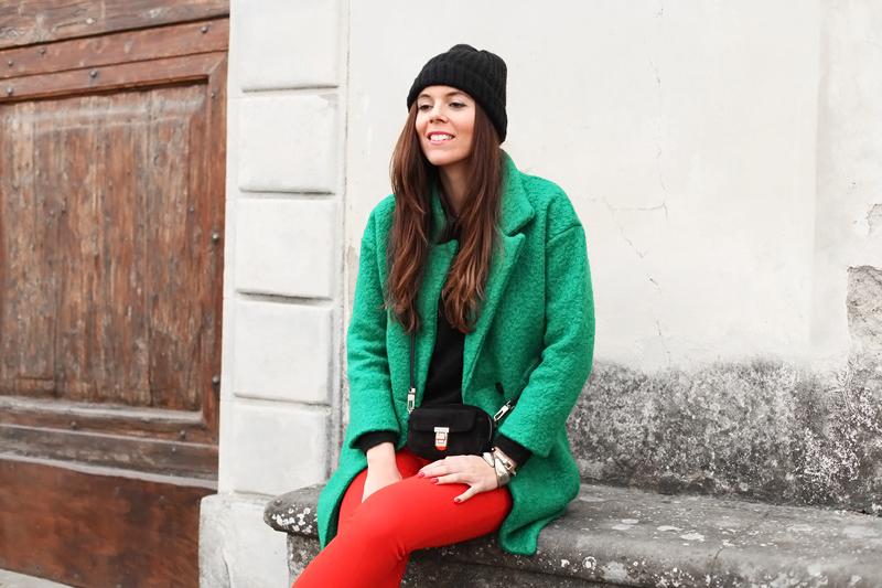 giubbotto verde