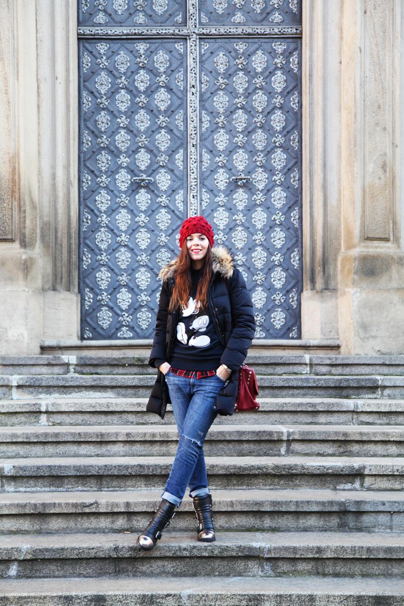 outfit casual per l'inverno