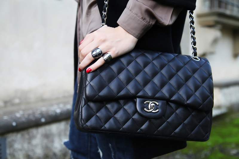 anelli con croci otto jewels borsa chanel 2.55