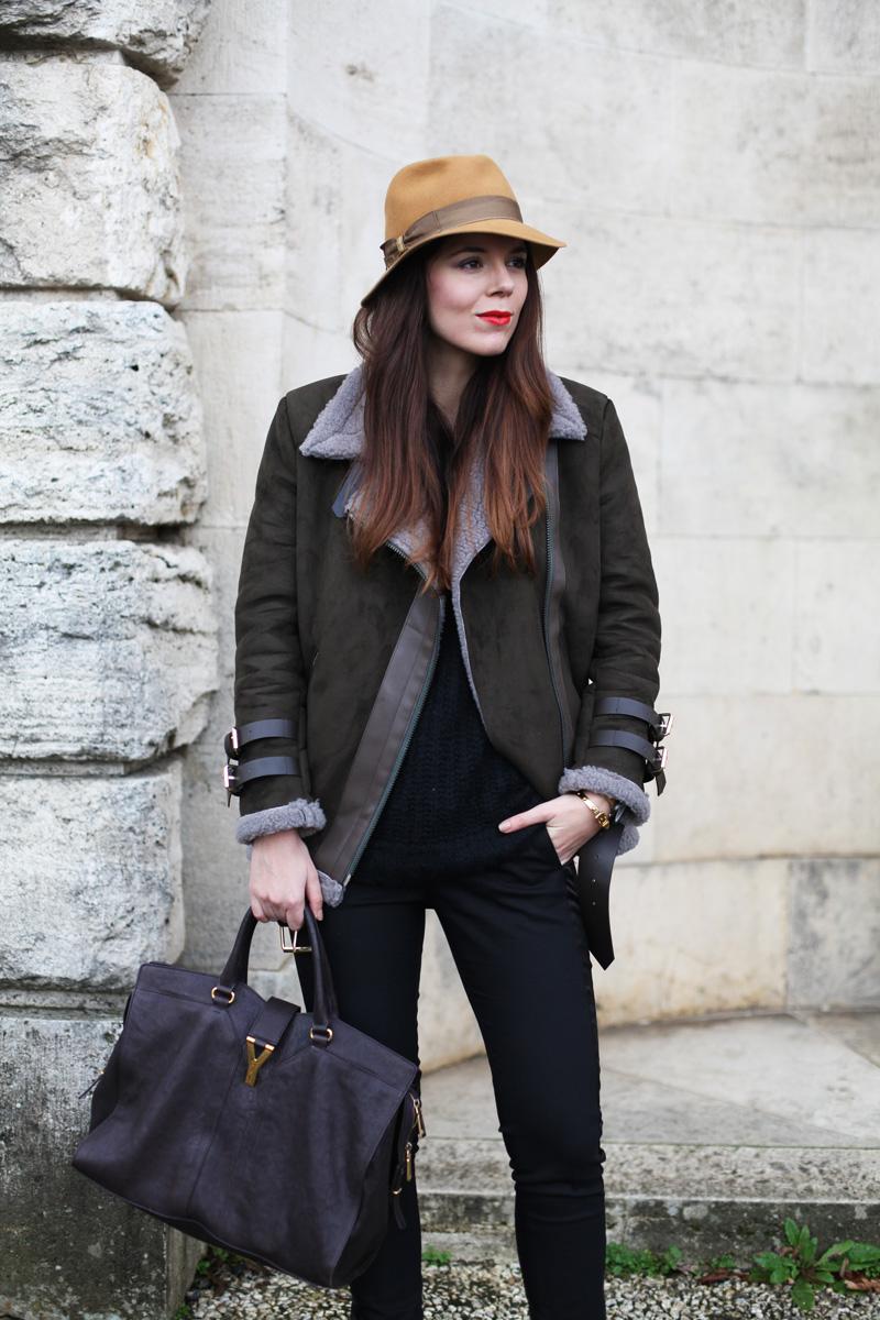 cappello borsalino donna senape