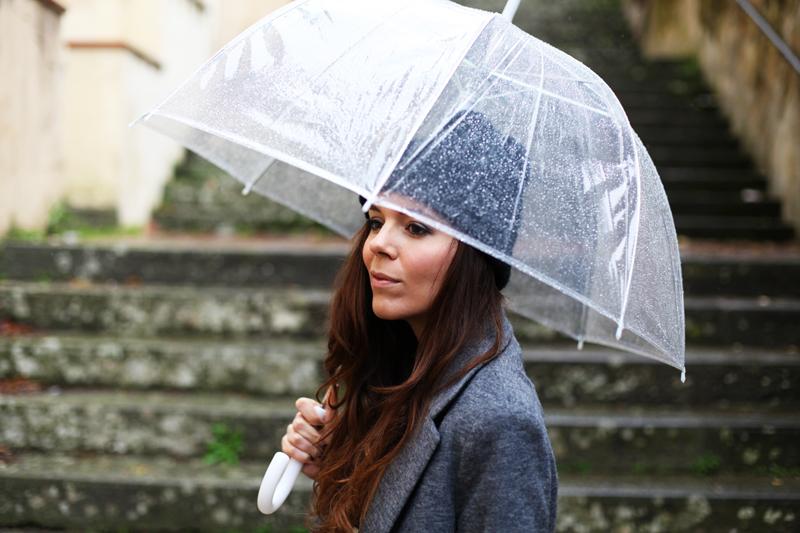 ombrelli trasparenti