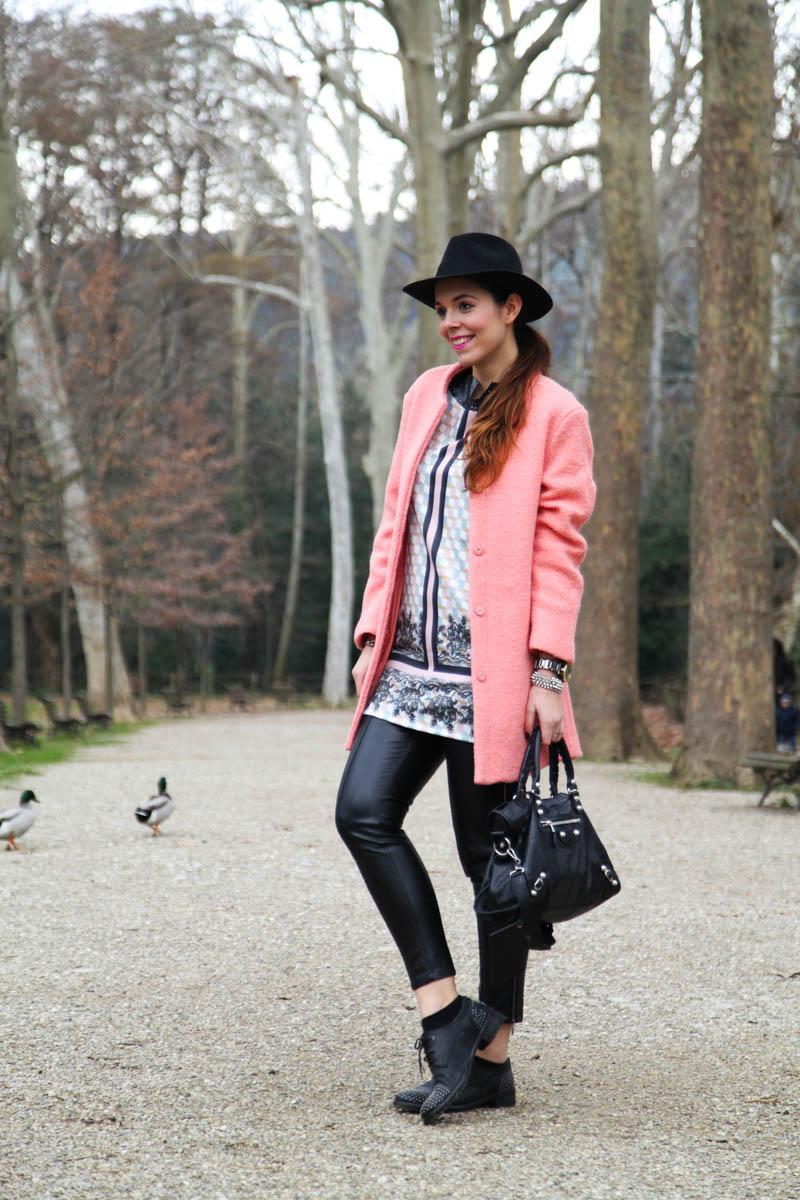 cappotto rosa pastello