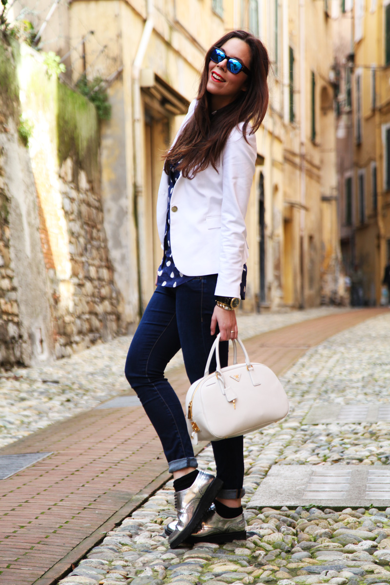 look casual fashion blogger