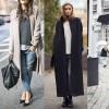 Cappotto lungo: 35 idee per l'acquisto e l'abbinamento!