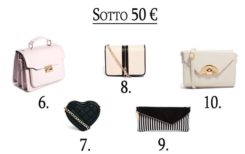 borse sotto i 50 euro shopping online