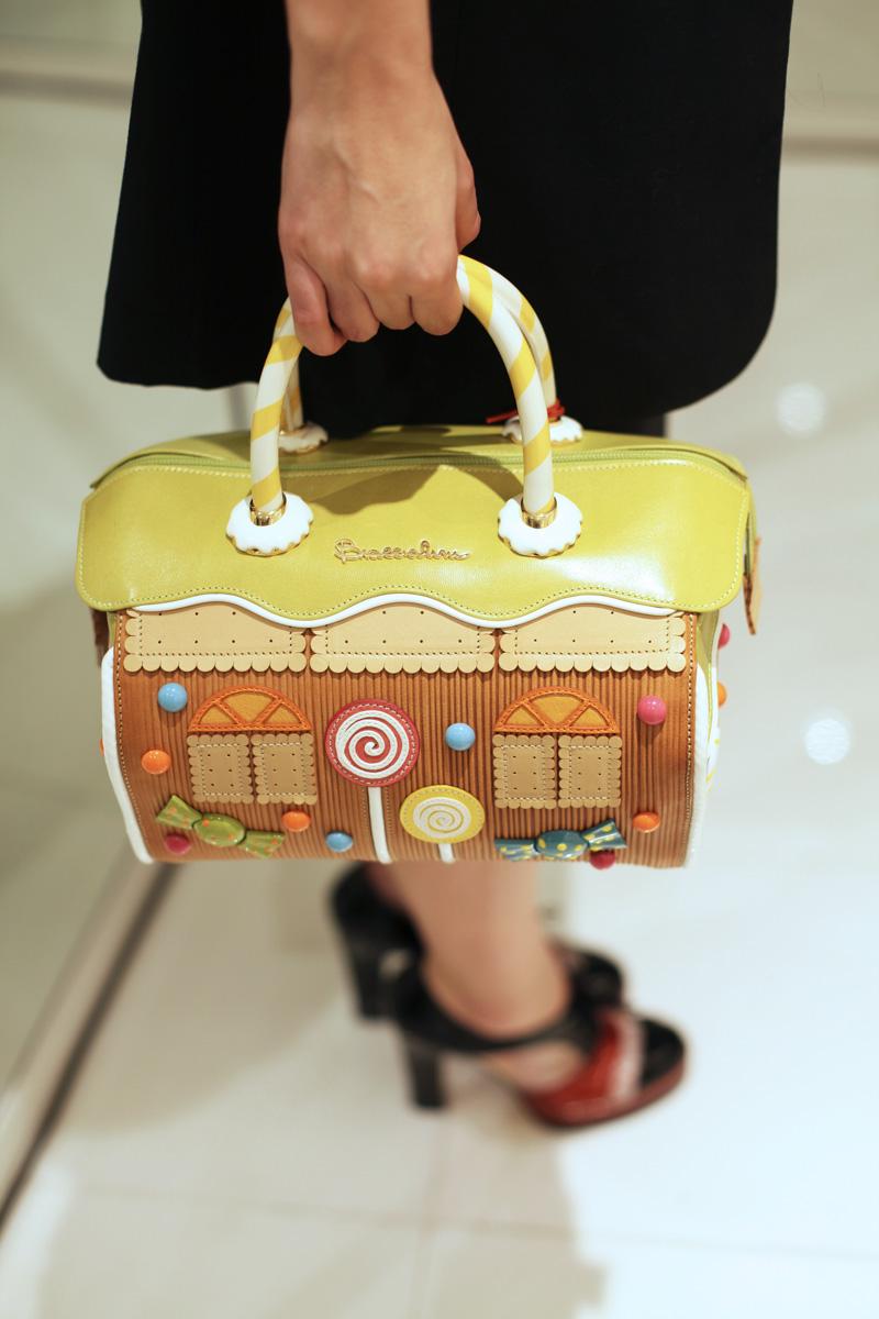 braccialini borsa casa marzapane dolci