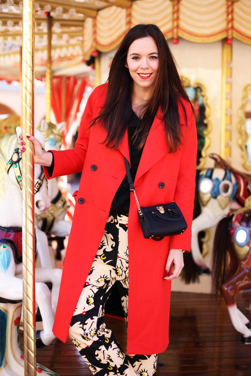 cappotto lungo rosso mini micheal kors pantaloni cartoni animati