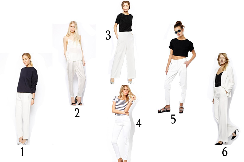 look outfit fashion blogger white pants (16)