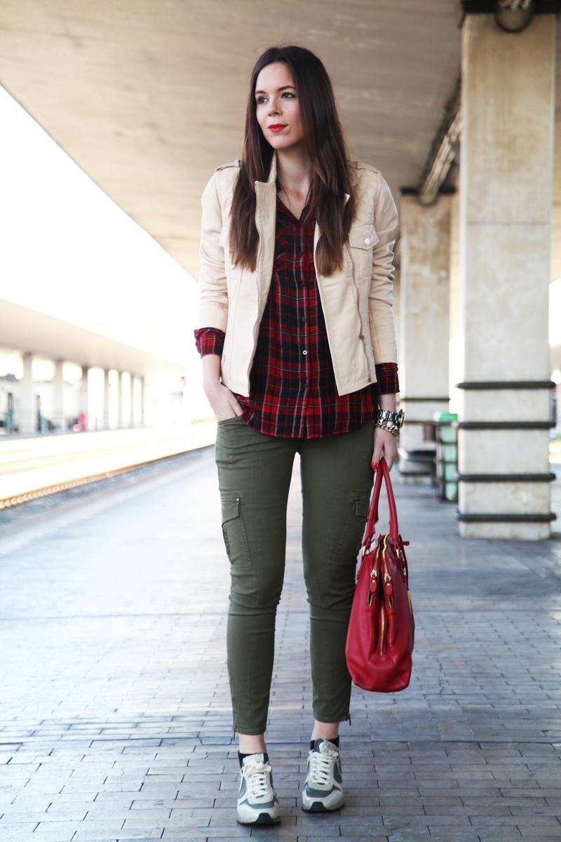 pantaloni militari donna (2)