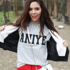 pantaloni rossi milly, aniye by tshirt, motivi borsa, fashion blogger irene colzi irene closet look (12)