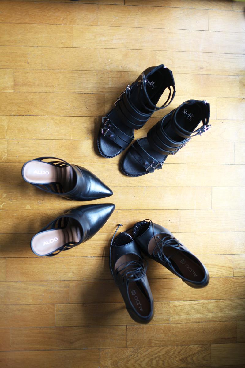 shopping scarpe sandali neri primavera estate 2014 tacchi scarpe donna  (2)