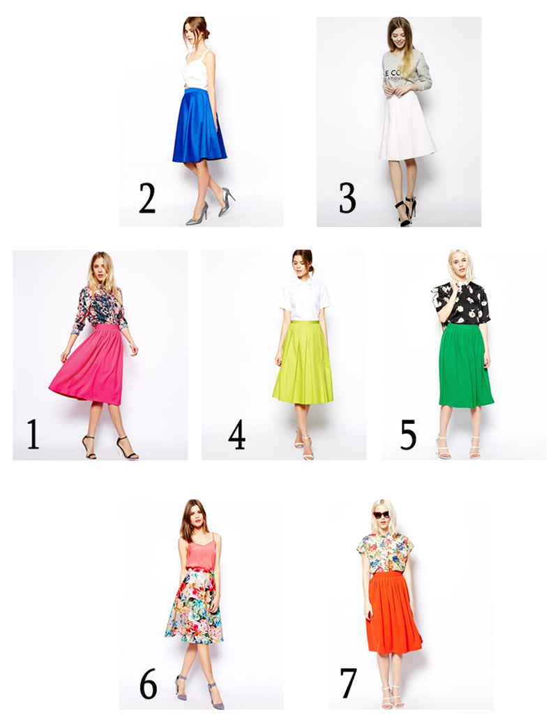 Collage-midi-skirt-foto-unica-