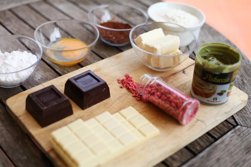 Ricetta biscotti al cioccolato | ingredienti