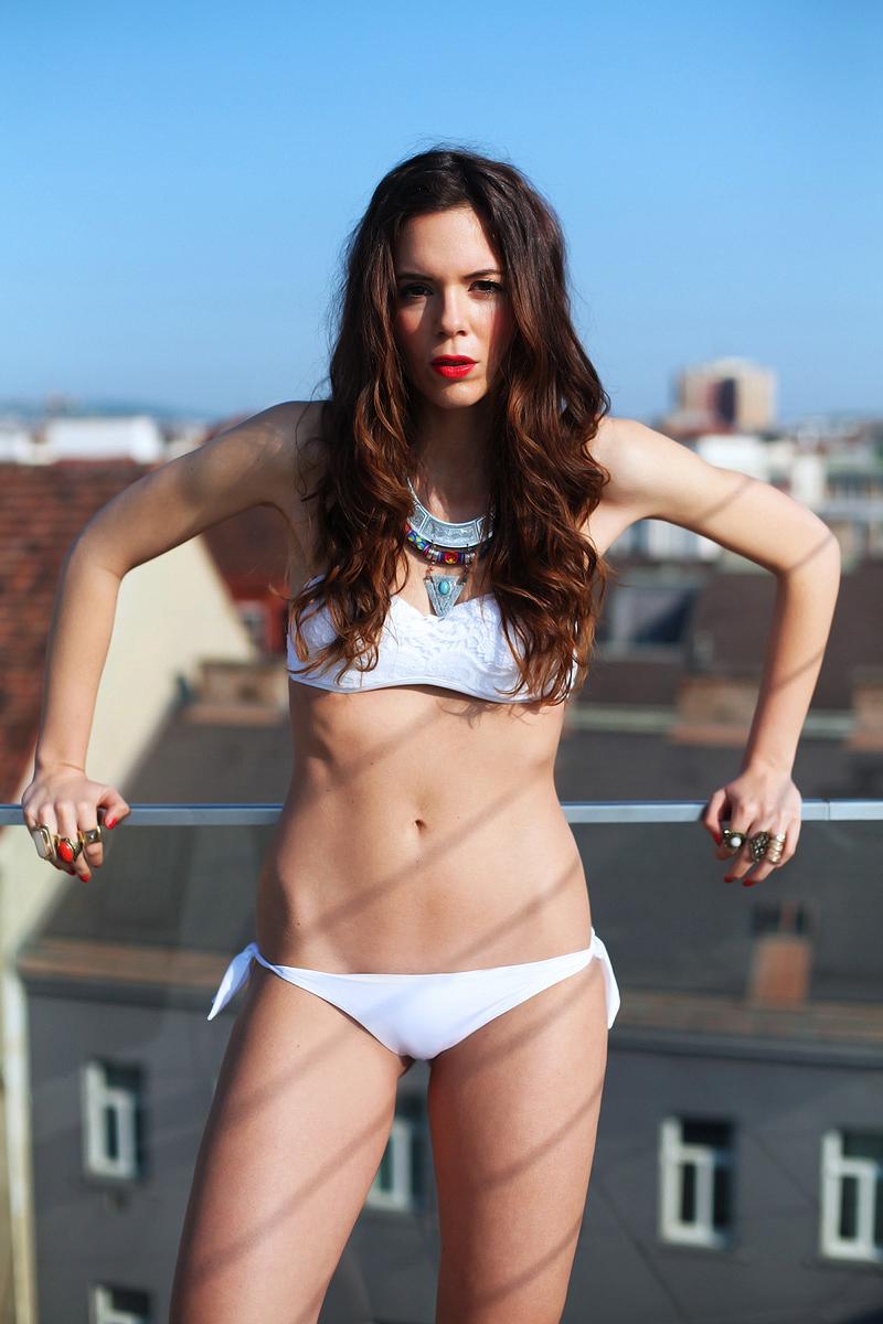bikini biano | costume da bagno bianco