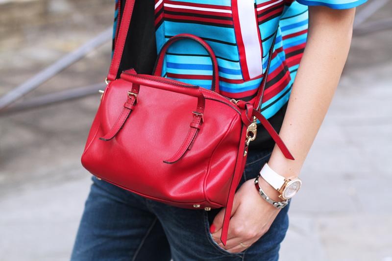 borsa rossa | borsa coccinelle