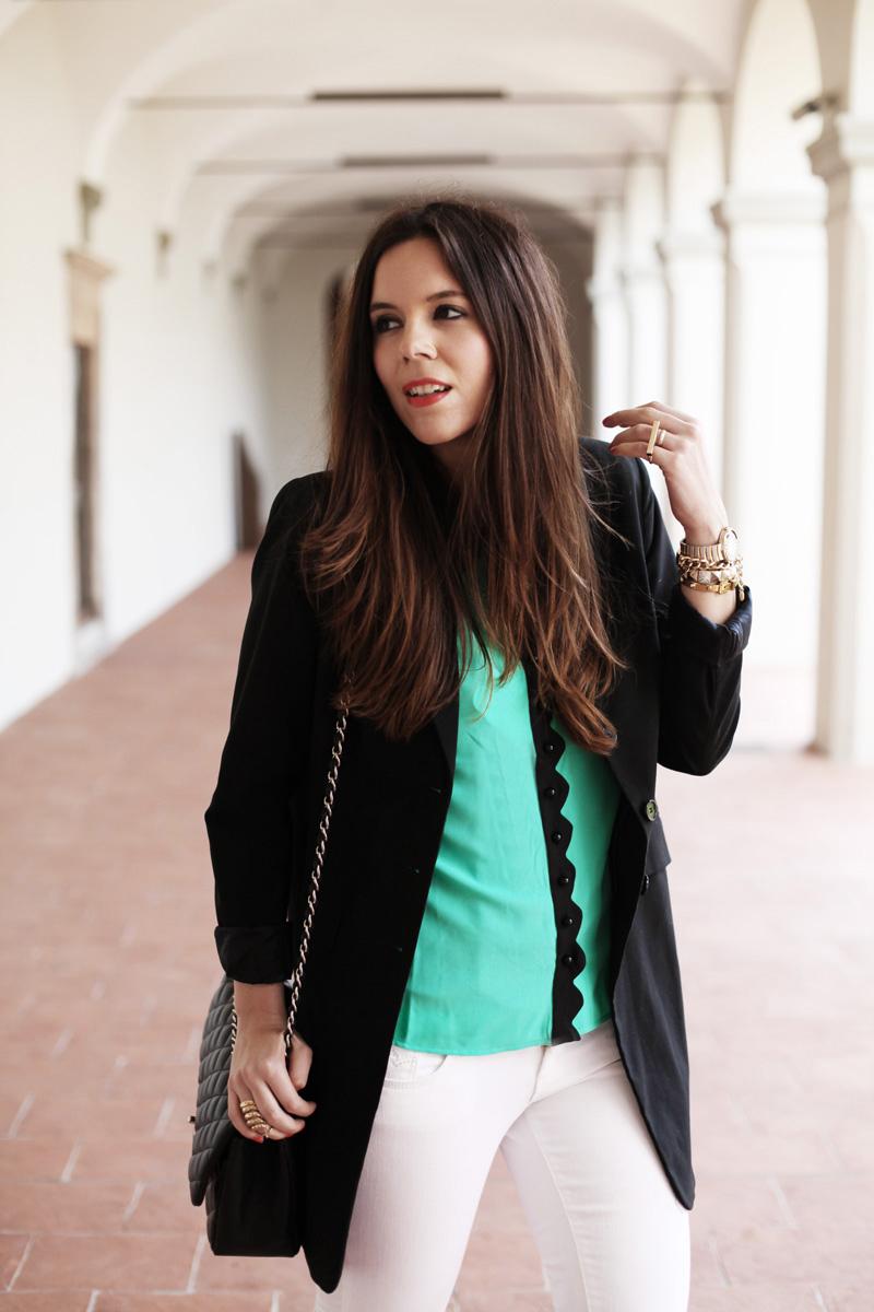 camicia baleeblu verde