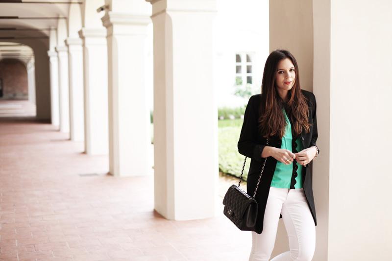 camicia verde | look primavera 2014