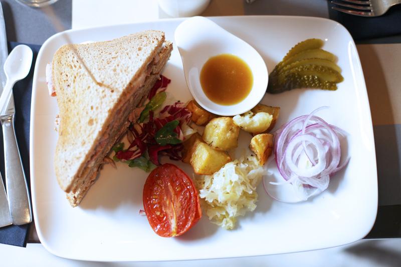 club sandwich | brunch