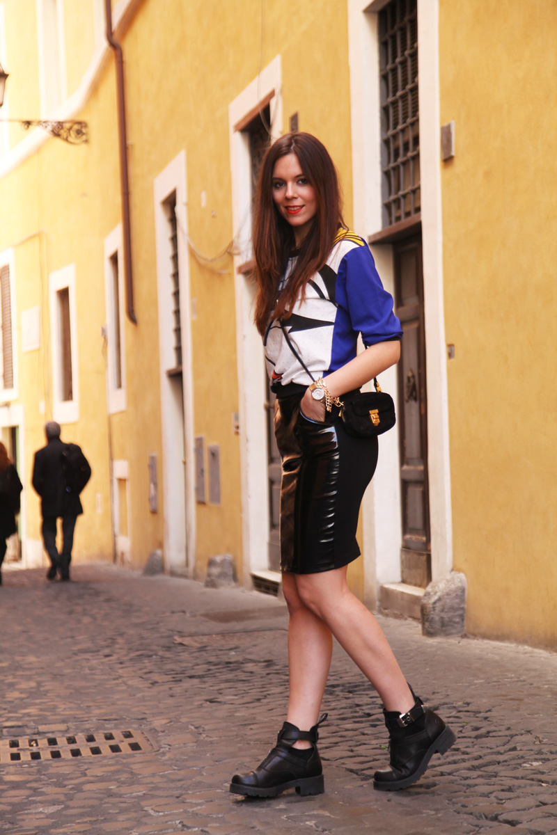 Look casual | gonna longuette latex