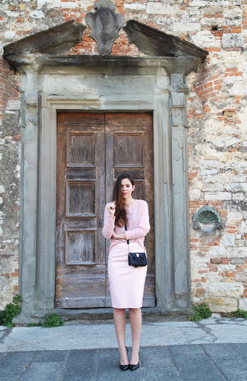 colori pastello | look rosa pastello