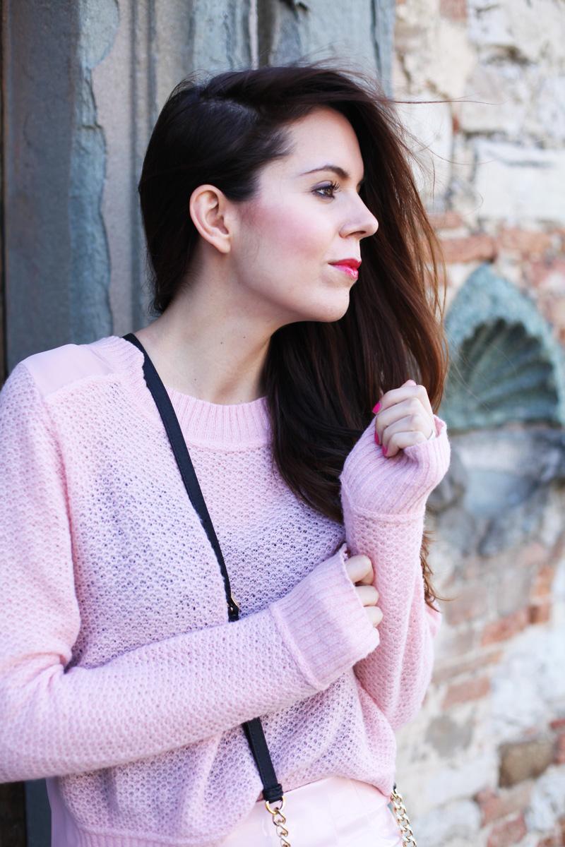 colori pastello | maglia rosa