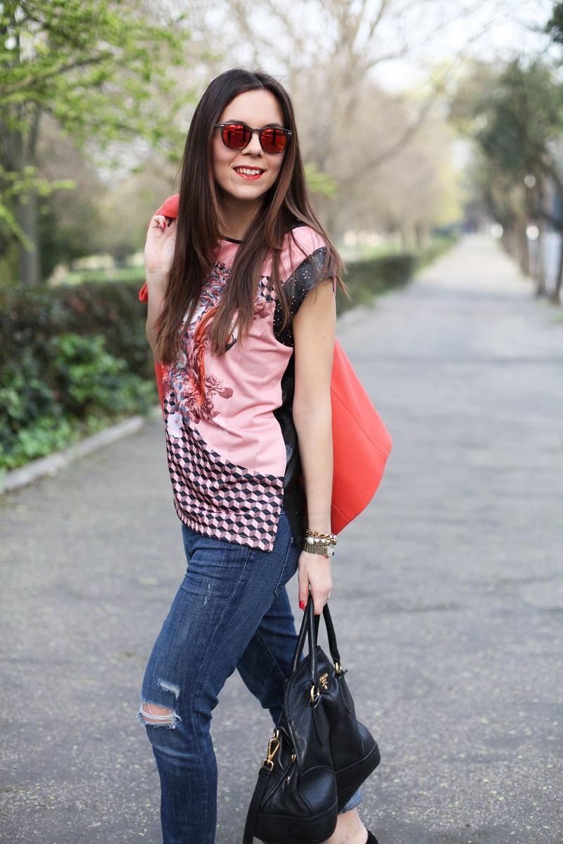 boyfriend jeans | streetstyle look