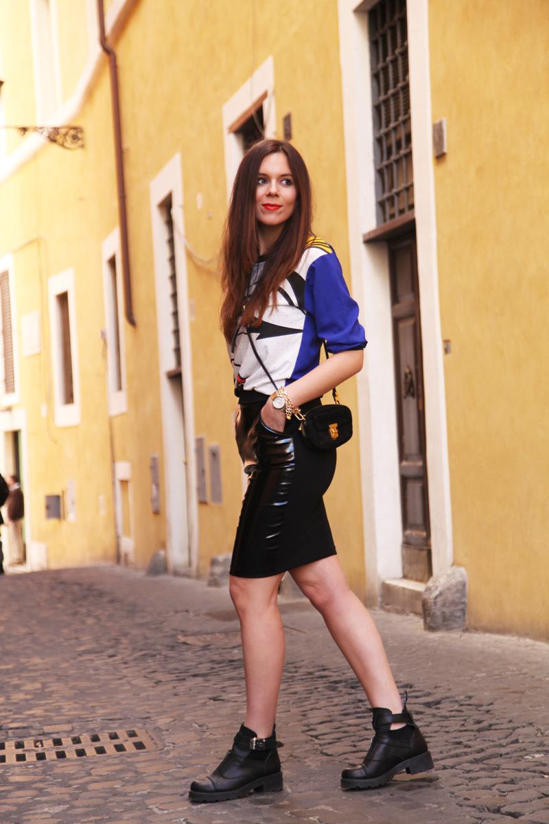 Look casual | longuette nera