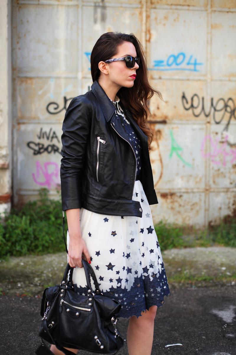 GIACCA DI PELLE DIESEL   leather jacket