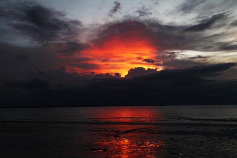 tramonto darwin | australia
