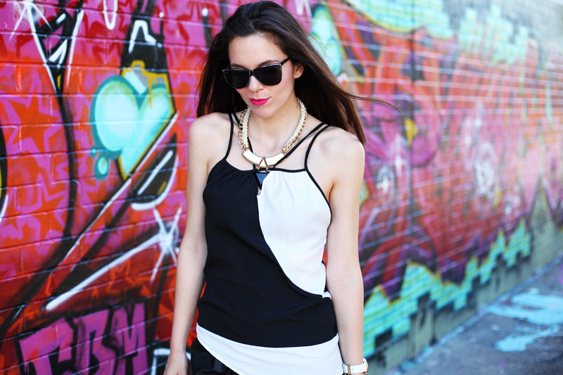 casual look bianco nero (5)
