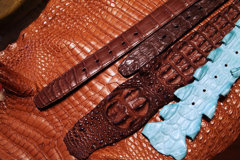 pelle di coccodrillo
