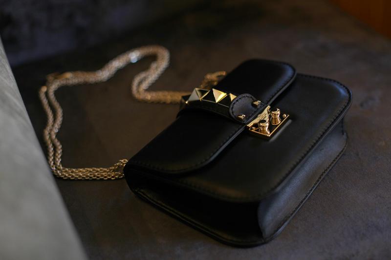 Valentino borsa nera
