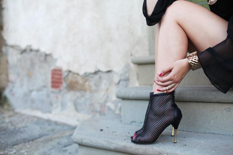 scarpe a rete
