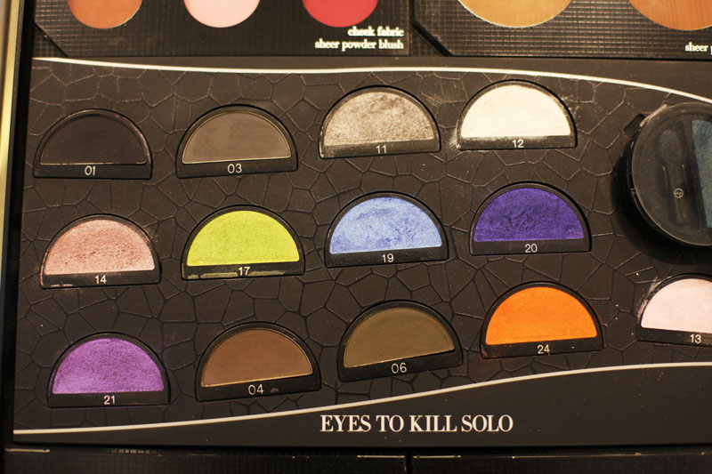 eyes to kill solo giorgio armani make up
