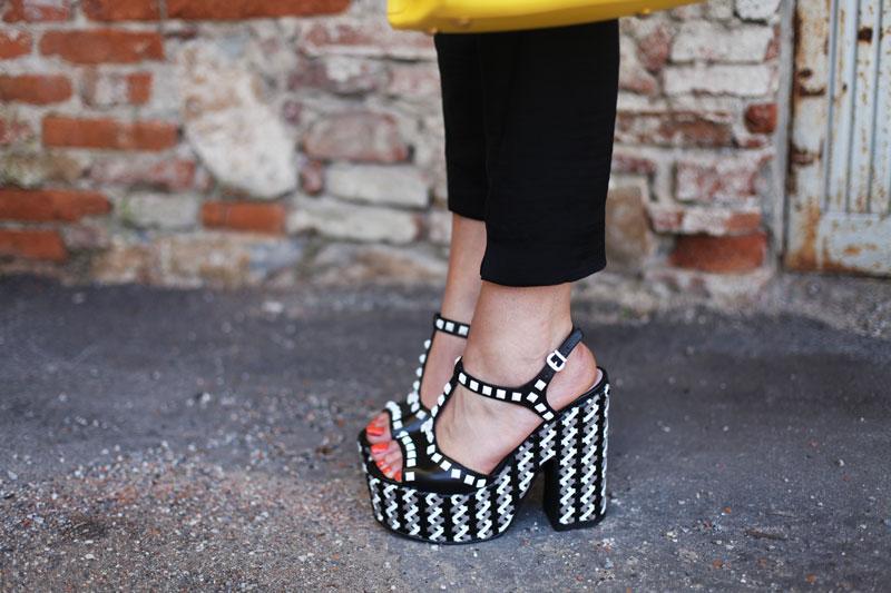 scarpe con la zeppa