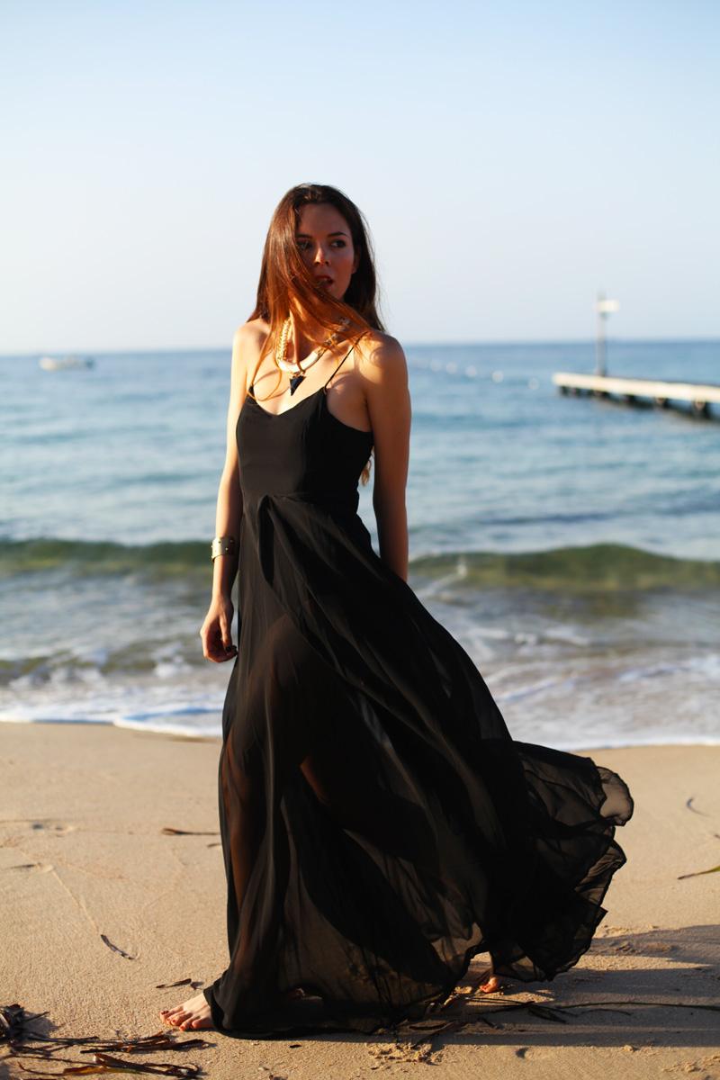 vestito trasparente
