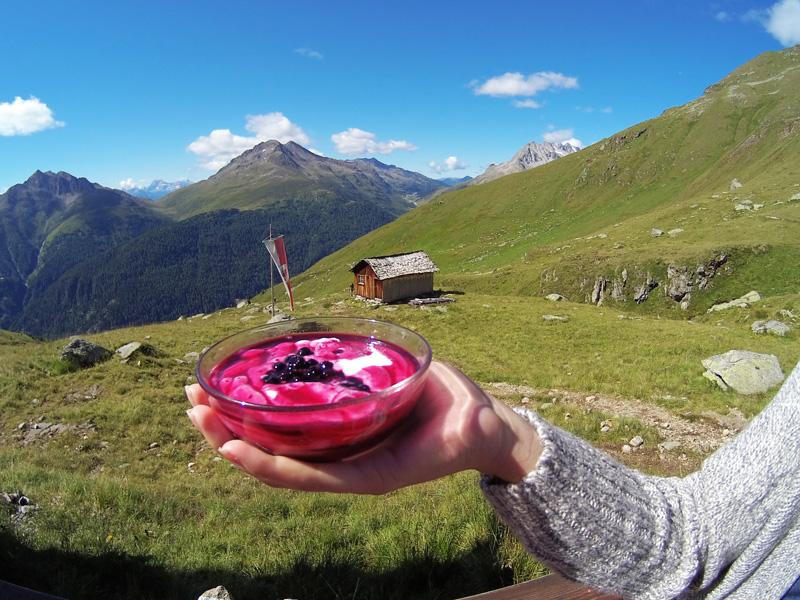 cibo di montagna